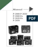 PMV Positioner P 2000 Manual