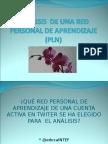 Ppt Análisis de Una Red Personal de Aprendizaje (Pln)