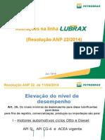 Alteracoes Na Linha Lubrax _Resolucao ANP 22_2014