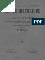 Revue historique du Sud-Est européen