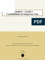 Relatório de Estágio de Contabilidade e Finanças