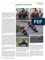 Article Supermoto Quebec / Magazine Sports Motorises fev 2015