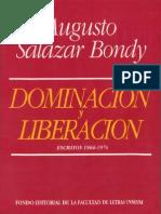 Dominación y Liberación - Augusto Salazar Bondy