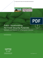 Public Stockholding for Food Security Purposes