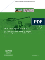 The 2014 Agricultural Act