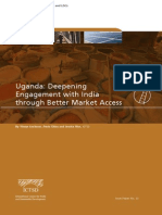 Uganda - Deepening Engagement With India Through Better Market Access