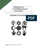 Principles for Interreligious Dialogue