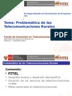 Problemática Telecomunicaciones Rurales Huánuco Nov 2014