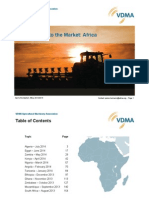 VDMA Ear to the Market Africa