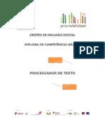 DCB - Manual Processador de Texto