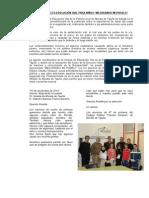 Nota Prensa Proyecto e.vial