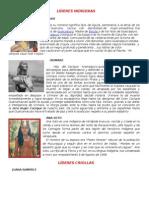 Biografias Cortas de Lideres Indigenas Afrodescendientes