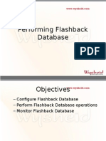 Flashback Database New