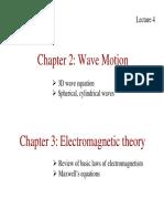 Lecture4 Ch2-3 Waves EMwaves