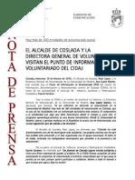 150218 NP- Visita de La Directora Gral. de Voluntariado Al CIDAJ de Coslada
