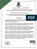 Resolucion 1650 de 2014