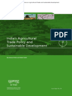 Indias Agricultural Trade Policy and Sustainable Development Goals