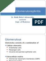 Primary Glomerulonephritis UG Lecture