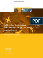 Addressing the Aviation and Climate Change Challenge