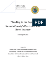 Trading in the Paper - Nevada County Poll Books