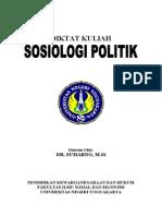 Karya a - Diktat Kuliah Sosiologi Politik