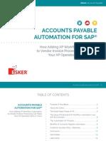 Esker 003 Esker eBook AP SAP-US - Automação Contas a Pagar