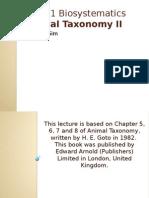 Animal taxonomy_II 2015.pptx