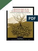 La Bolivia Que Se Va, La Bolivia Que Viene (Gonzalo Lema)