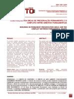 Construções Em Áreas de Preservação Permanente e o Conflito Entre Direitos Fundamentais