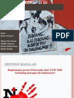 PBL 1 - Maraknya Korupsi Di Indonesia