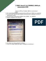 GHID DE CONECTARE SURVCE LA TRIMBLE 4800 pt RTK.doc