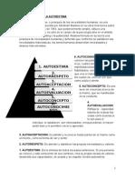 La Piramide de La Autoestima