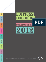 Edtions Bussiere Catalogue