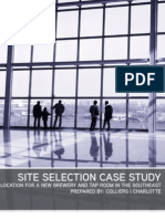 Site Selection Presentation