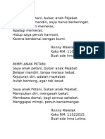 Puisi Anak Bumi 11022015
