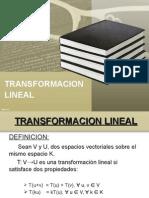Transformacion Lineal