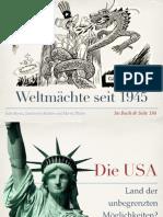 Geschichte - Die USA Nach 1945