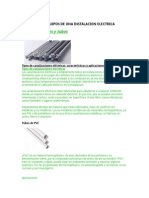 ELECTRICIDAD 2 (Elementos y Equipos de Una Instalación Eléctrica)