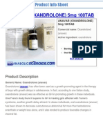 Pdf_011-Anavar (Oxandrolone) 5mg 100tab