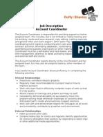 Job Description-Account Coordinator