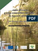 Plantas Silvestres y Setas Comestibles Del Valle de Ayora Cofrentes