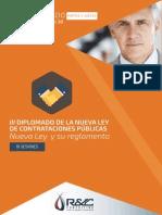 DIPLOMADO Nueva Ley de Contrataciones Públicas y su Reglamento