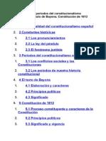 Constitucionalismo Espanol