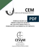 Normas Basicas para la Formacion Sacerdotal en Mexico