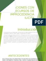Operaciones Con Recursos de procedencia Ilicita.