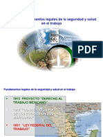 Fundamentos Legales Sobre La Higiene y Seguridad Industrial