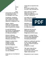 Poezii Paste