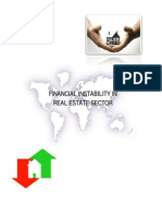 Financial Instability in Real-Estate Sector