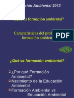 1. Qué Es Formación Ambiental