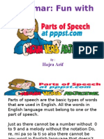Lec 1 Parts of Speech